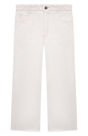 Детские джинсы CHLOÉ белого цвета, арт. C14654 | Фото 1