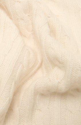 Детского кашемировый плед OSCAR ET VALENTINE бежевого цвета, арт. COU05 | Фото 2