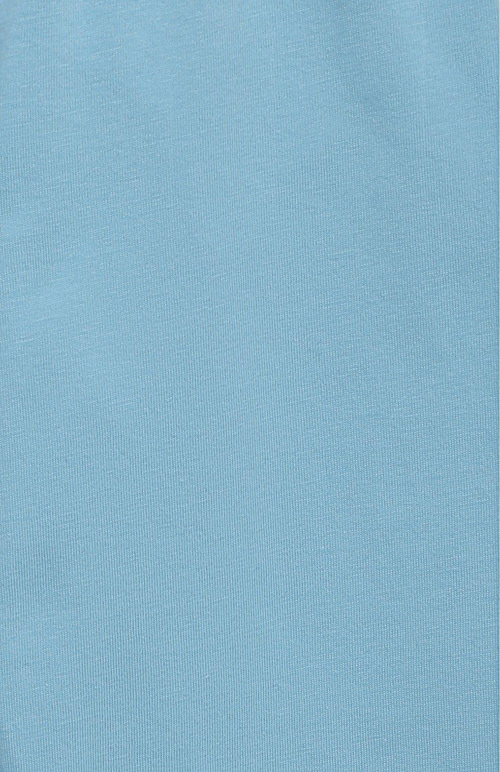 Женская хлопковая пижама SANETTA голубого цвета, арт. 232588. | Фото 7