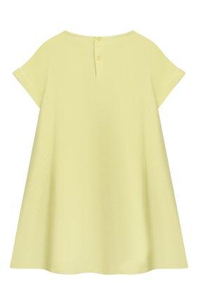 Женский хлопковое платье IL GUFO желтого цвета, арт. P21VM612M0014/2A-4A | Фото 2