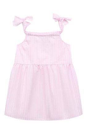 Женский хлопковое платье LA PERLA розового цвета, арт. 66565 | Фото 2