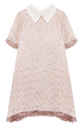 Детское платье DESIGNERS CAT розового цвета, арт. 100000K01000710/10A-12A   Фото 1