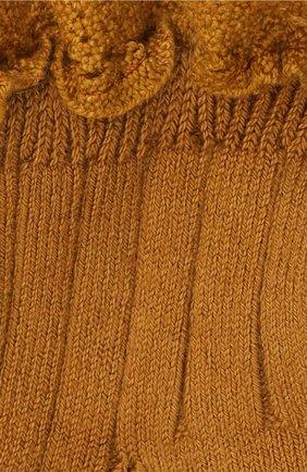 Детские хлопковые носки COLLEGIEN оранжевого цвета, арт. 3455/18-35 | Фото 2