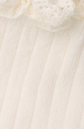 Детские хлопковые носки COLLEGIEN белого цвета, арт. 3455/36-44 | Фото 2
