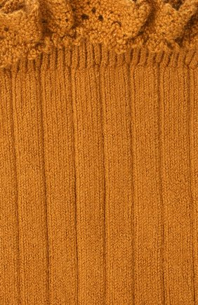 Детские хлопковые носки COLLEGIEN оранжевого цвета, арт. 3455/36-44 | Фото 2