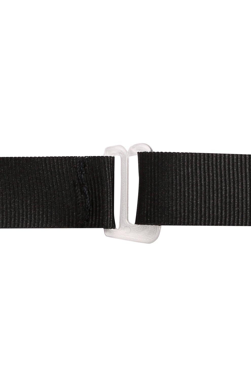 Детский галстук-бабочка PAOLO PECORA MILANO черного цвета, арт. PP2619   Фото 3 (Материал: Текстиль, Вискоза, Синтетический материал)