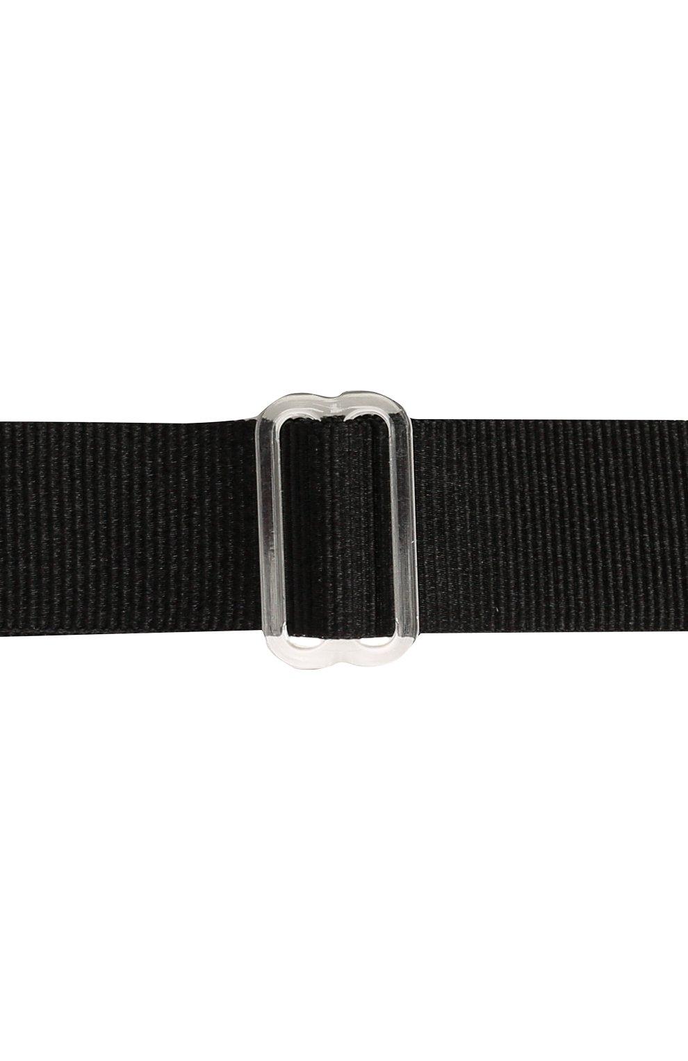 Детский галстук-бабочка PAOLO PECORA MILANO черного цвета, арт. PP2620 | Фото 3 (Материал: Текстиль, Синтетический материал)