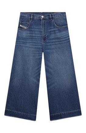Детские джинсы DIESEL синего цвета, арт. J00145-KXB74 | Фото 1