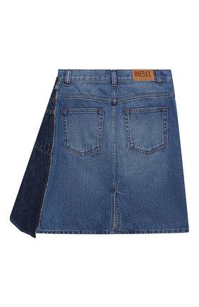 Детская джинсовая юбка DIESEL синего цвета, арт. J00048-KXB74 | Фото 2