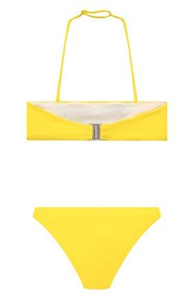 Детского раздельный купальник DSQUARED2 желтого цвета, арт. DQ0274-D000V | Фото 2