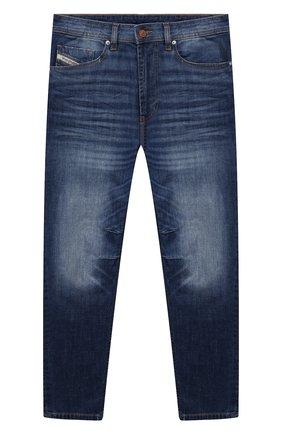 Детские джинсы DIESEL синего цвета, арт. 00J3RL-KXB8C | Фото 1