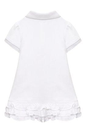 Женский комплект из платья и шорт POLO RALPH LAUREN белого цвета, арт. 310676237 | Фото 3