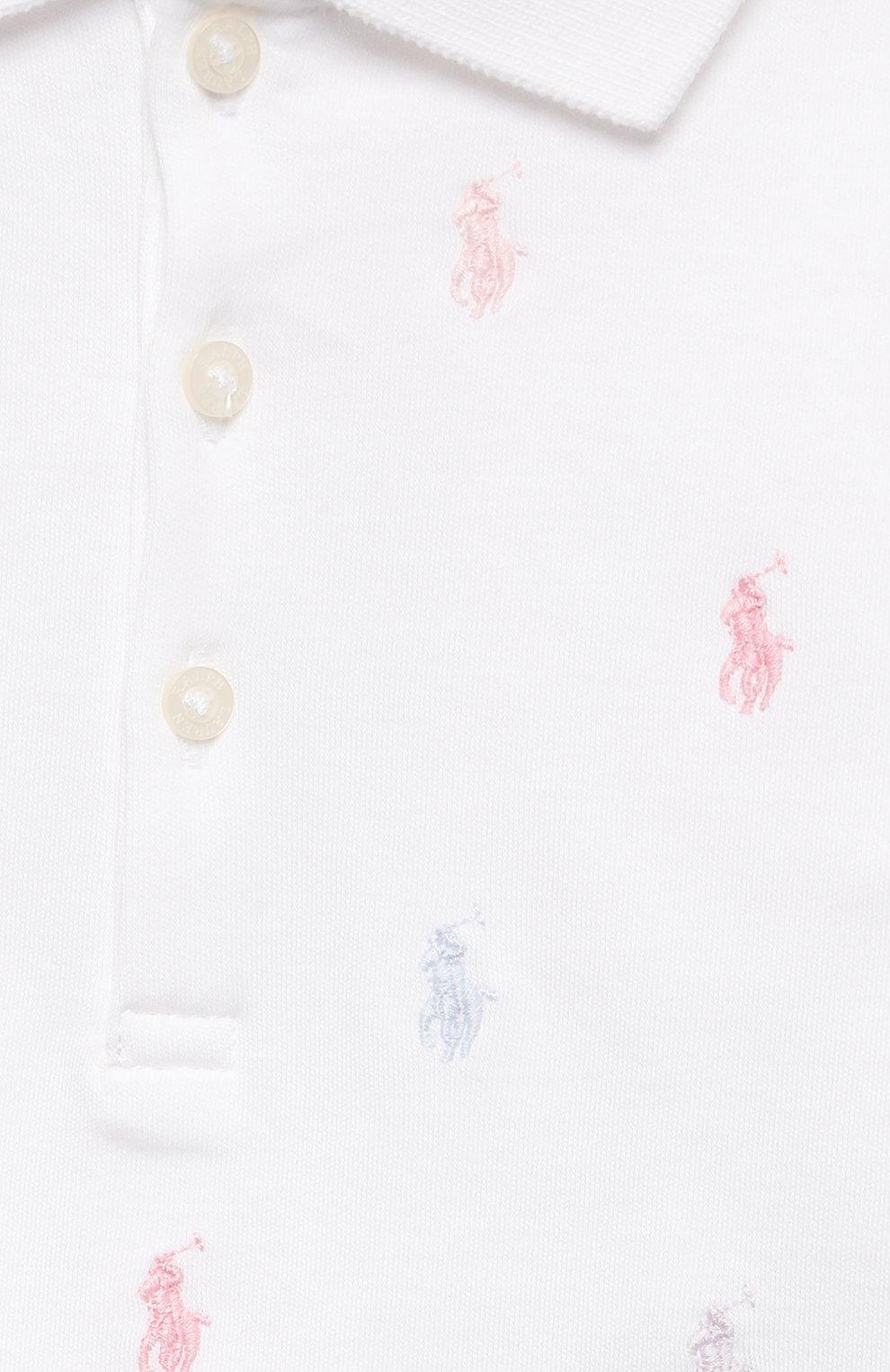 Женский комплект из платья и шорт POLO RALPH LAUREN белого цвета, арт. 310676237   Фото 6