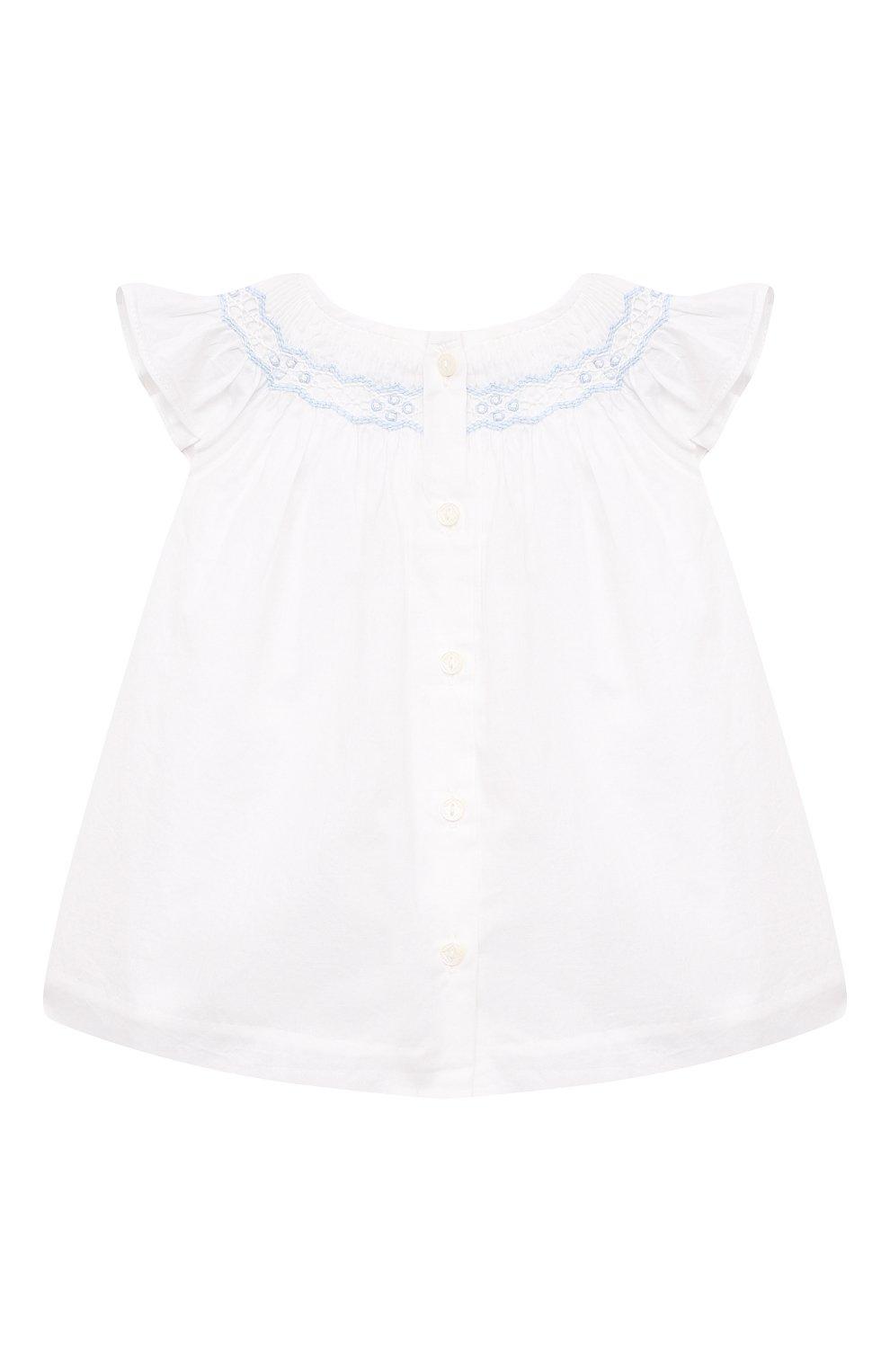 Детские комплект из платья и шорт POLO RALPH LAUREN разноцветного цвета, арт. 310835406   Фото 3