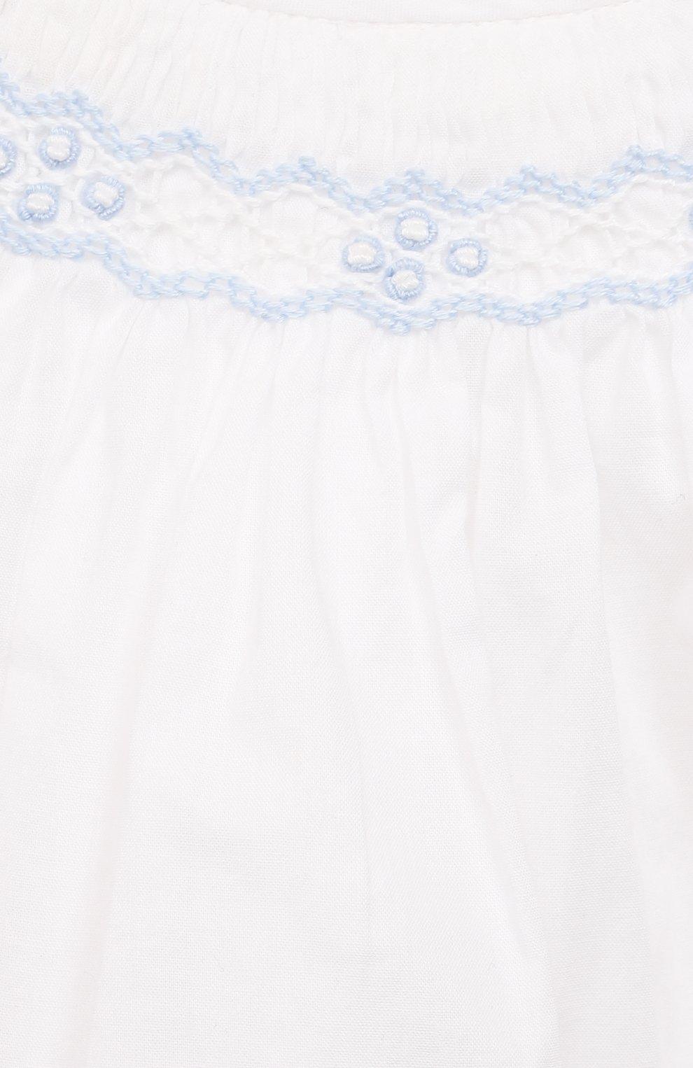 Детские комплект из платья и шорт POLO RALPH LAUREN разноцветного цвета, арт. 310835406   Фото 6