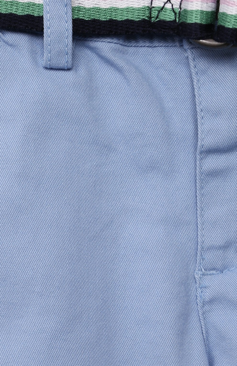 Детские хлопковые шорты POLO RALPH LAUREN голубого цвета, арт. 320832061 | Фото 3