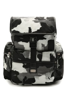Детская рюкзак DOLCE & GABBANA серого цвета, арт. EM0100/AJ769 | Фото 1