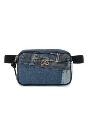 Детская поясная сумка DOLCE & GABBANA голубого цвета, арт. EB0202/A4801 | Фото 1