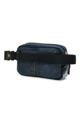 Детская поясная сумка DOLCE & GABBANA голубого цвета, арт. EB0202/A4801 | Фото 2