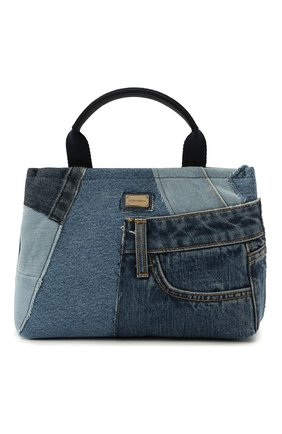 Детская сумка DOLCE & GABBANA голубого цвета, арт. EB0116/A4801 | Фото 1