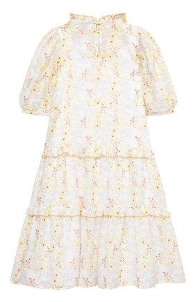 Детское хлопковое платье PAADE MODE разноцветного цвета, арт. 21210851/10Y-14Y | Фото 2