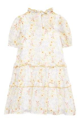Детское хлопковое платье PAADE MODE разноцветного цвета, арт. 21210851/4Y-8Y | Фото 2