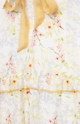 Детское хлопковое платье PAADE MODE разноцветного цвета, арт. 21210851/4Y-8Y | Фото 3