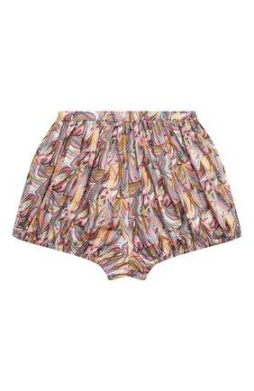 Детские хлопковые шорты PAADE MODE разноцветного цвета, арт. 21217201/10Y-14Y   Фото 1