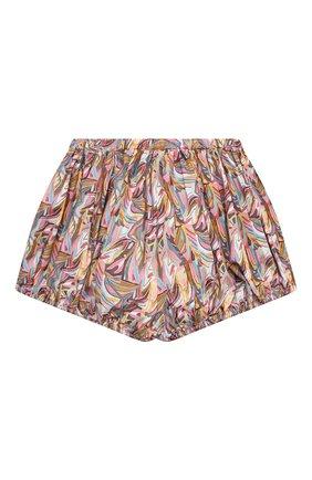 Детские хлопковые шорты PAADE MODE разноцветного цвета, арт. 21217201/10Y-14Y   Фото 2