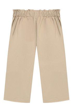 Детские хлопковые брюки PAADE MODE бежевого цвета, арт. 21218003/4Y-8Y   Фото 2