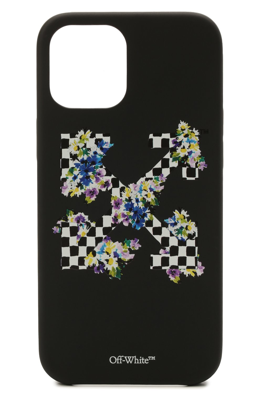 Чехол для iphone 12 pro max OFF-WHITE черного цвета, арт. 0WPA021S21PLA003 | Фото 1