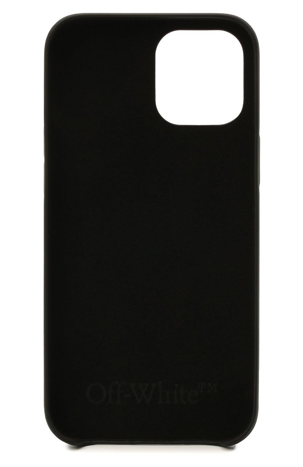 Чехол для iphone 12 pro max OFF-WHITE черного цвета, арт. 0WPA021S21PLA003 | Фото 2
