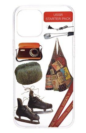 Чехол для iphone 12 pro max MISHRABOO прозрачного цвета, арт. USSR 12 Pro Max | Фото 1