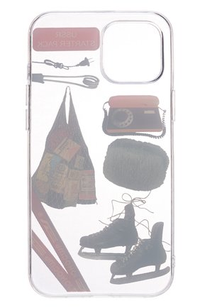 Чехол для iphone 12 pro max MISHRABOO прозрачного цвета, арт. USSR 12 Pro Max | Фото 2