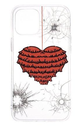 Чехол для iphone 12 pro max MISHRABOO прозрачного цвета, арт. Heart 12 Pro Max | Фото 1