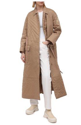 Хлопковое пальто 1 Moncler JW Anderson | Фото №2
