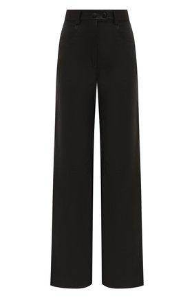 Женские кожаные брюки BATS черного цвета, арт. FW20/P_010 | Фото 1