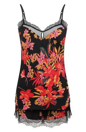 Женская комплект из пижамы и халата LISE CHARMEL черного цвета, арт. ALG4273-ALG0173 | Фото 1
