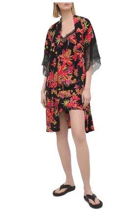 Женская сорочка из вискозы LISE CHARMEL черного цвета, арт. ALG1273 | Фото 2