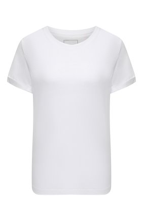 Женская хлопковая футболка CHANTAL THOMASS белого цвета, арт. TTL110 | Фото 1