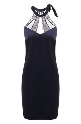 Женская шелковая сорочка LISE CHARMEL синего цвета, арт. ALG1263 | Фото 1