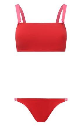 Женский раздельный купальник SHAN красного цвета, арт. 42195-26-42195-31   Фото 1