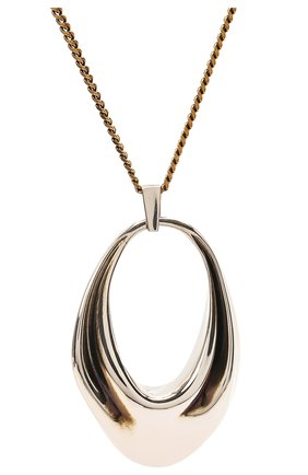 Женское колье ALEXANDER MCQUEEN серебряного цвета, арт. 659627/J160Z | Фото 2