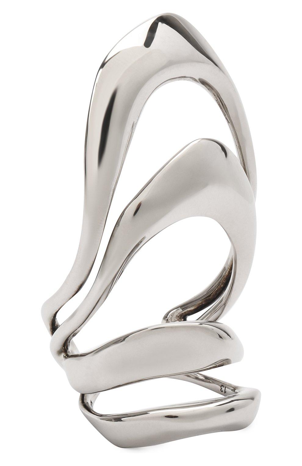 Женское кольцо ALEXANDER MCQUEEN серебряного цвета, арт. 659634/J160Y | Фото 1