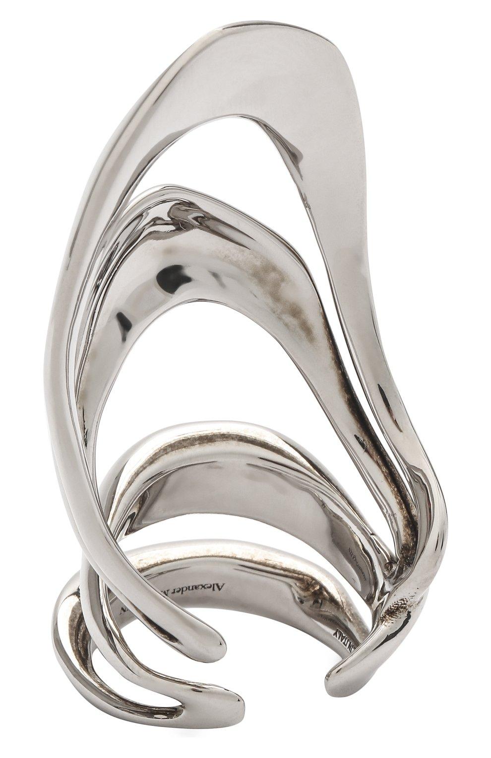 Женское кольцо ALEXANDER MCQUEEN серебряного цвета, арт. 659634/J160Y | Фото 2