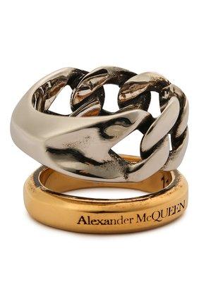 Женское кольцо ALEXANDER MCQUEEN серебряного цвета, арт. 659641/J160Z | Фото 1