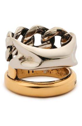 Женское кольцо ALEXANDER MCQUEEN серебряного цвета, арт. 659641/J160Z | Фото 2