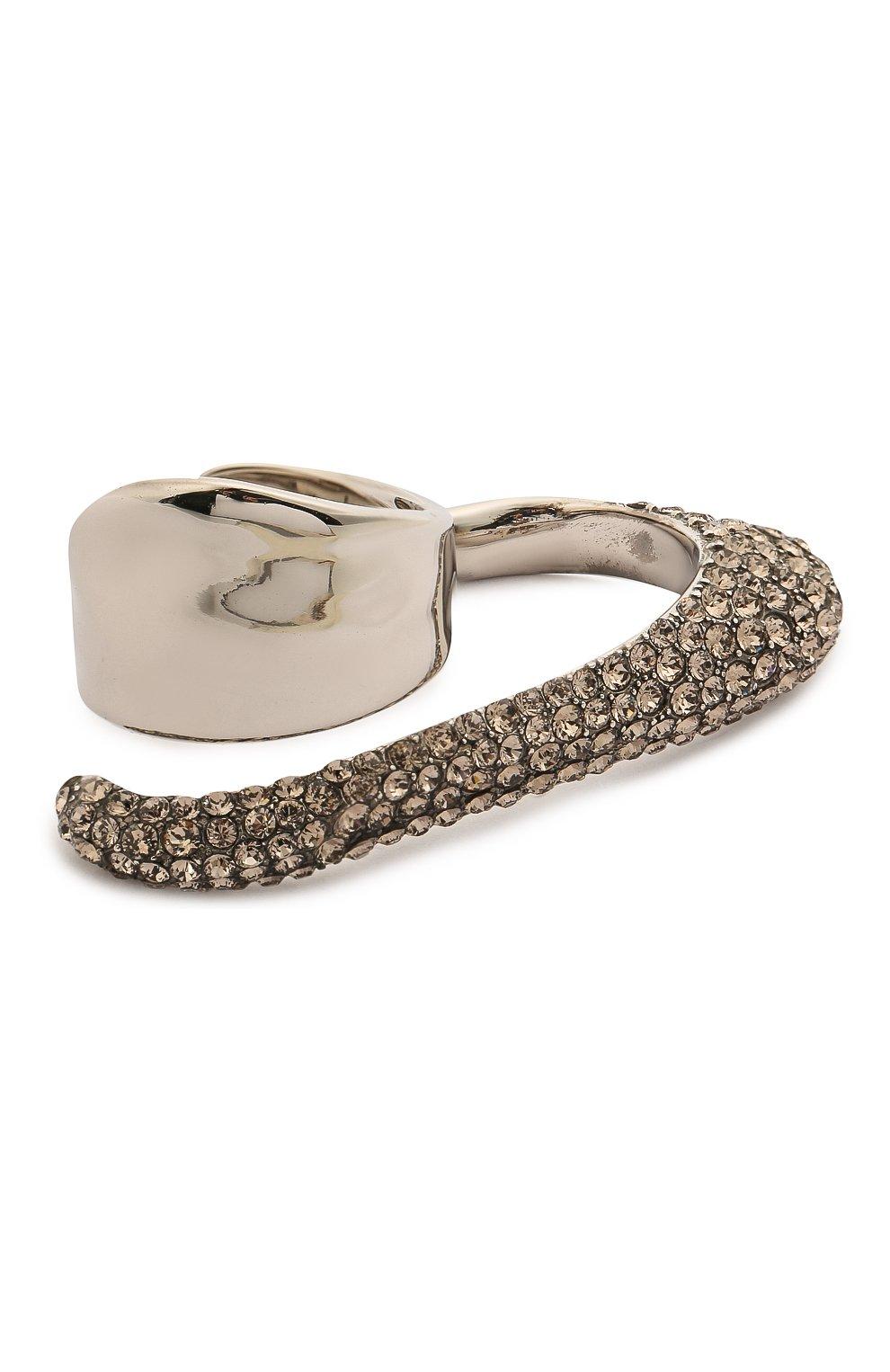 Женское кольцо ALEXANDER MCQUEEN серебряного цвета, арт. 659640/J160Y   Фото 1