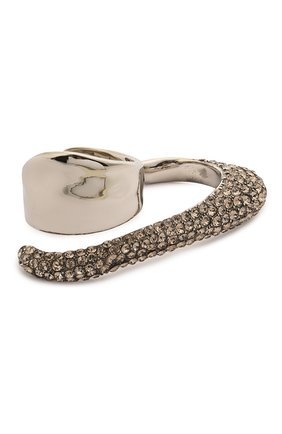 Женское кольцо ALEXANDER MCQUEEN серебряного цвета, арт. 659640/J160Y | Фото 1