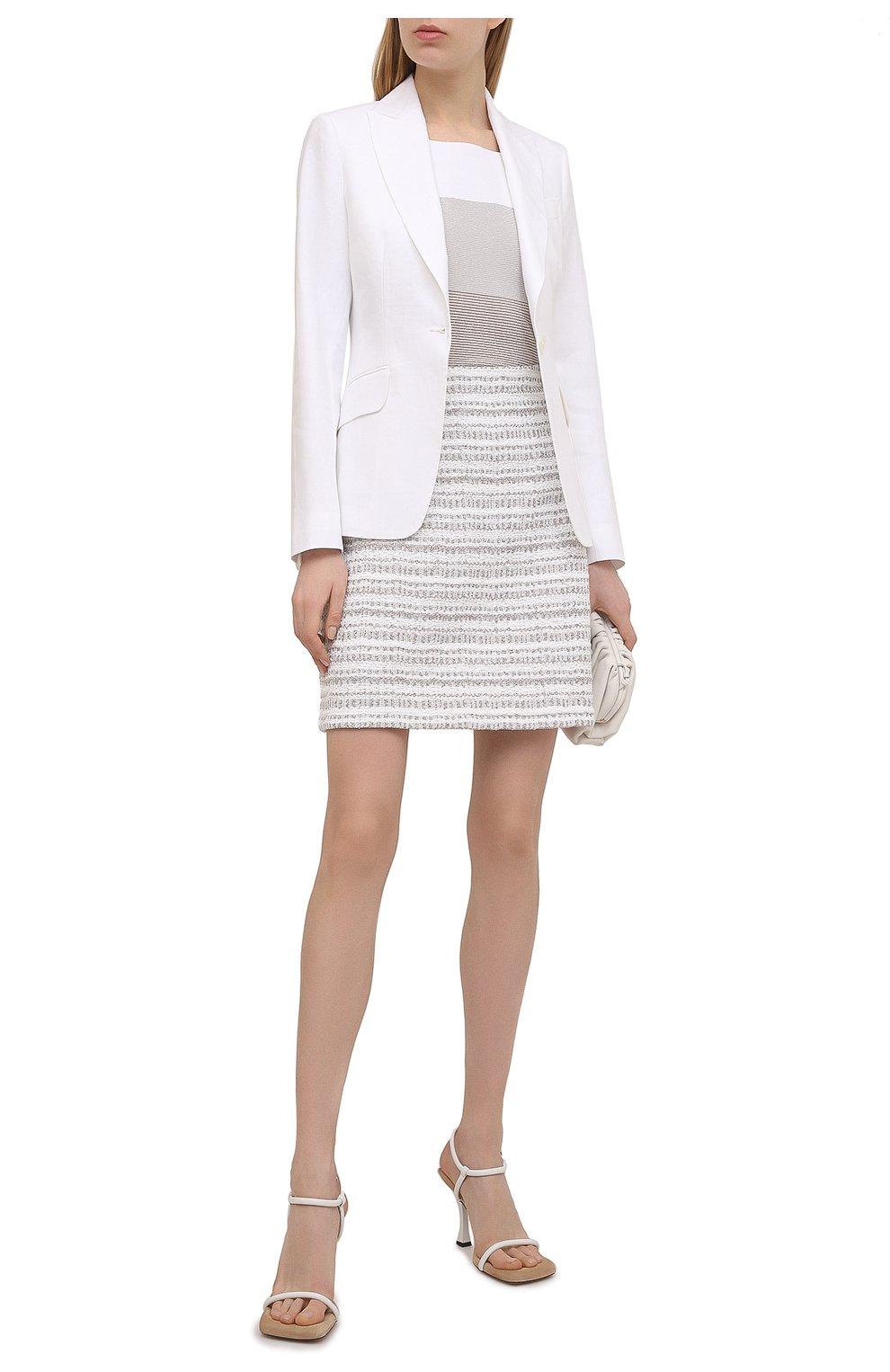Женская юбка D.EXTERIOR бежевого цвета, арт. 52412 | Фото 2